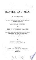 Master and man: a dialogue