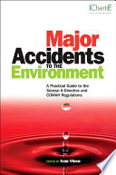 Major Accidents to the Environment Book