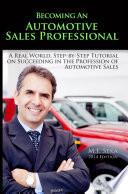 Becoming An Automotive Sales Professional
