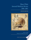 Mayo Clinic Medical Manual and Mayo Clinic Internal Medicine Review Book