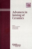 Advances in Joining of Ceramics Pdf/ePub eBook