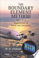 The Boundary Element Method Volume 2 Book PDF