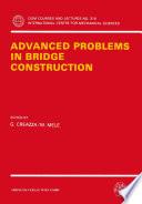 Advanced Problems in Bridge Construction Book