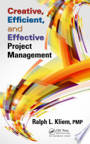 Creative  Efficient  and Effective Project Management Book PDF