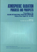 Atmospheric Radiation Progress and Prospects Book