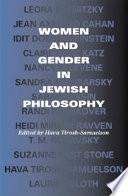 Women and Gender in Jewish Philosophy