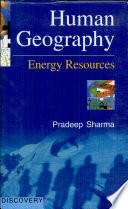Human Geography  Energy Resources Book