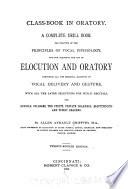 Class book in Oratory