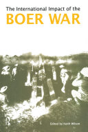 The International Impact of the Boer War Pdf/ePub eBook