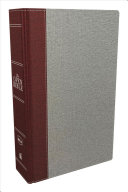 The NKJV  Open Bible  Cloth Over Board  Gray Red  Red Letter Edition  Comfort Print