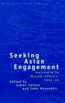 Seeking Asian Engagement