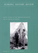 Pdf Nursing History Review, Volume 13, 2005 Telecharger