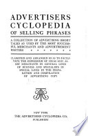 Advertising Cyclopedia of Selling Phrases