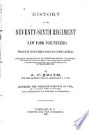 History of the Seventy-sixth Regiment New York Volunteers