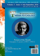 The International Journal of Indian Psychology  Volume 3  Issue 4  No  56