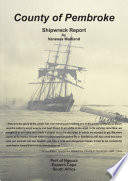 County of Pembroke  Shipwreck Report  Port of Ngqura  South Africa