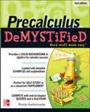 Pre-calculus Demystified 2/E