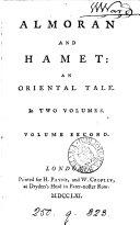 Almoran And Hamet By J Hawkesworth