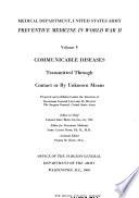 Preventive Medicine in World War II  Book PDF