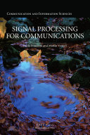 Signal Processing for Communications