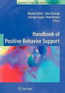 Handbook of Positive Behavior Support