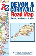 Devon   Cornwall Road Map
