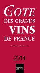 Pdf La Cote des Grands Vins de France 2014 Telecharger