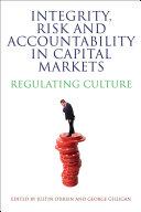Integrity, Risk and Accountability in Capital Markets Pdf/ePub eBook