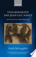 Yves Bonnefoy and Jean-Luc Nancy