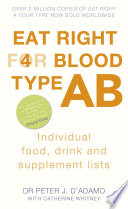 Eat Right for Blood Type AB Book PDF