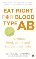 Eat Right for Blood Type AB ebook
