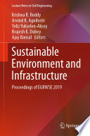 Sustainable Environment and Infrastructure
