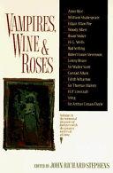 Vampires  Wine   Roses Book