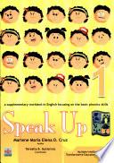 Speak Up 1 2007 Ed  Book