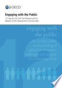 OECD Development Co operation Peer Reviews Engaging with the Public Twelve Lessons from DAC Peer Reviews Book