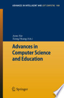 Advances in Computer Science and Education