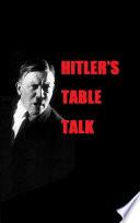 Hitler s Table Talk
