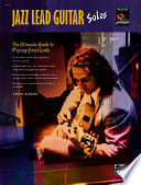 Jazz Lead Guitar Solos Book
