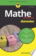 Öffnen Sie das Medium Mathe kompakt für dummies von Zegarelli, Mark im Bibliothekskatalog