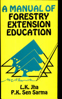 Pdf A Manual of Forestry Extension Education