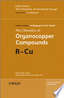 The Chemistry of Organocopper Compounds Book