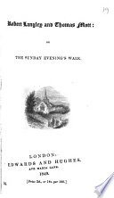 Robert Langley and Thomas Mott  or The Sunday evening s walk