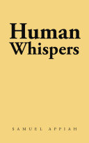 Pdf Human Whispers