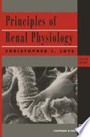 Principles Of Renal Physiology Book PDF