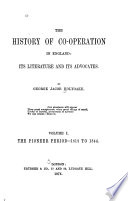The History Of Co Operation In England The Pioneer Period