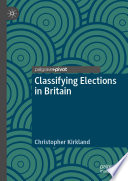 Classifying Elections In Britain