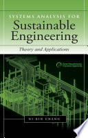 Systems Analysis for Sustainable Engineering  Theory and Applications