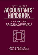 Accountants' Handbook: Financial accounting and general topics