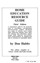 Home Education Resource Guide