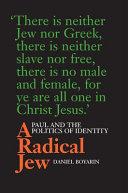 A Radical Jew